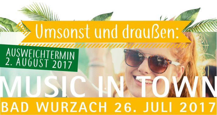 Music in Town 26.07.2017 Bad Wurzach Klosterplatz